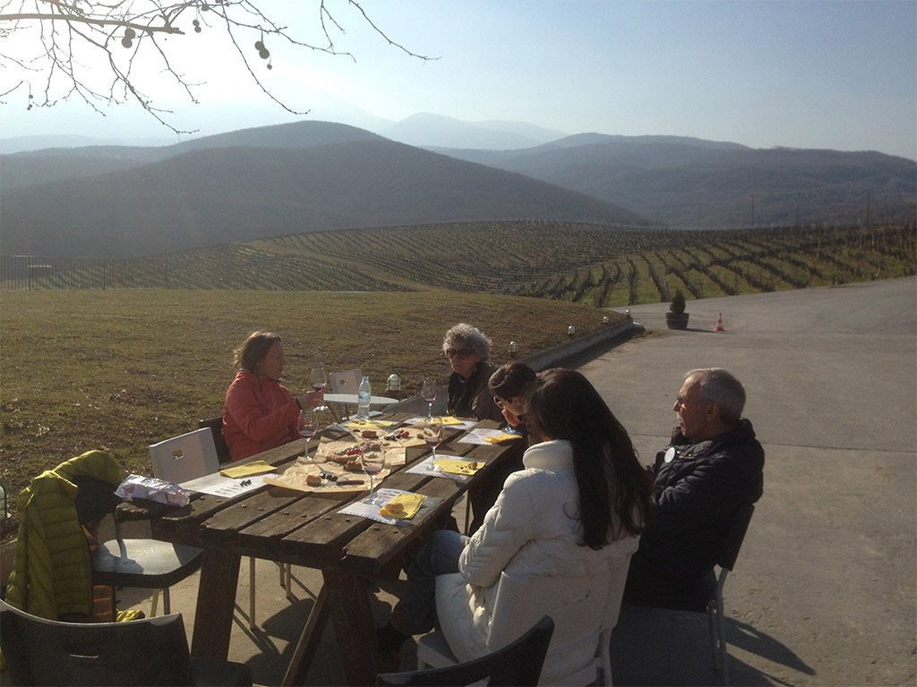 trigiro hike and wine day tour